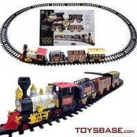 China Battery Operated Electrical Train Toy Set on sale