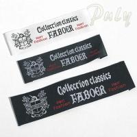 Cheap Fabric Labels Woven Lable for Apparel wholesale