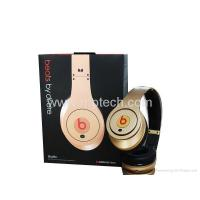 Buy cheap dull gold Monster beats by dr dre studio headphone (Grade B) from wholesalers