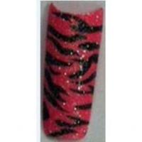Cheap Zebra hot pink small glitter wholesale