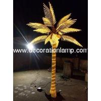 Cheap summer Holiday Name and 110V, 220V Voltage LED Palm Tree Light wholesale