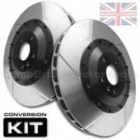 AUDI RS3/TTRS 370 x 32mm Front 2-Piece Brake Disc Conversion Kit [Bell/Rotor Combo]