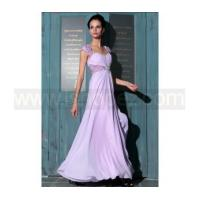 A-line off shoulder purple long quinceanera dress