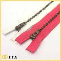 Dress metal zipper long chain metal zipper|Metal zipper