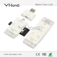 OTG 3 in 1 Card Reader for iPhone YHUS-R055