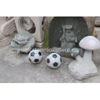 Cheap stone soccer football for sale