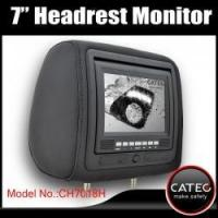 Cheap 7 inch car headrest TV monitors / car backseat monitors for back seat entertainment system CH7018H wholesale
