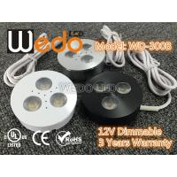Cheap WD-300A 12V 3W LED Cabinet Light / LED Puck Light with CE cUL UL Certified wholesale