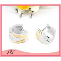 Cheap GL-EC02024 Big hoop earrings for man stainless steel earings wholesale wholesale