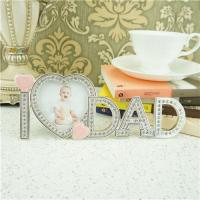 Cheap Metal photo frame / fathers day gifts wholesale