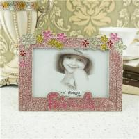 Cheap Metal photo frame/children gift photo frame wholesale