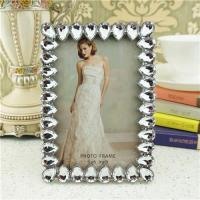 Cheap Metal photo frame/shine acrylic photo frame wholesale