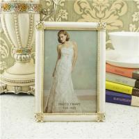 Cheap Metal photo frame/wedding photograph frame wholesale