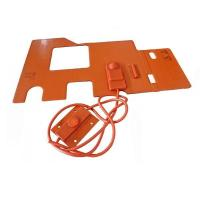 Cheap Custom Silicone Rubber Hot Pad 12V Manufacturer wholesale