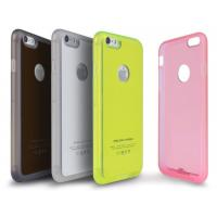 Newly arrival Colorful TPU materials qi wireless charger receiver cover for Iphone6/Plus