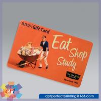 Cheap Full color printing Plastic gift card wholesale