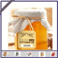 Cheap New Design Adhesive Printed Honey Sticker Label for Glass Bottle wholesale