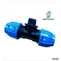"""Cheap 20mm*1/2""""-110mm*4""""pp fitting male tee irrigation pipe fittings wholesale"""