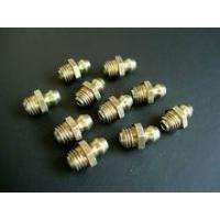 Cheap Grease Nipple & Grease Fitting Straight grease fitting sizes BSPT1/8-28 wholesale
