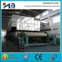 Cheap Paper machine Corrugated paper production line (recycled waste paper) wholesale