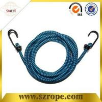 Cheap good quality bungee cord with double metal hook Pass 88LBS test wholesale