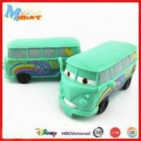 Cheap small promotional 3d mini model bus toys for kids wholesale