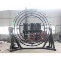 outdoor amusement park rides human gyroscope,3D space ring for sale