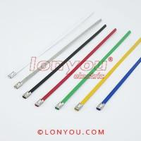 Cheap PVC Coated Ball-Lock Cable Ties wholesale