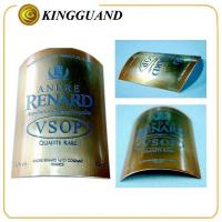 Cheap VOSP high end metal private brand liquor whisky label wholesale