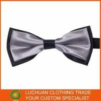 Cheap Best Selling Shiny Satin Man Bow Tie wholesale