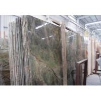 Cheap Top Quality Natural Rain Forest Green Marble Slab wholesale