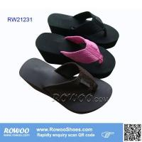 China 2015 summer lady high heel slippers on sale