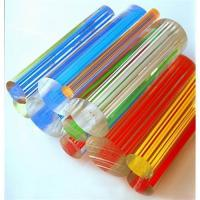 wholesale colored acrylic wire rod/plexiglass color wire rod for decoration