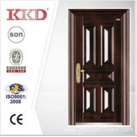 Cheap 2014 New Design Security Steel Door KKD-106 With New Pait Main Door Made In China wholesale