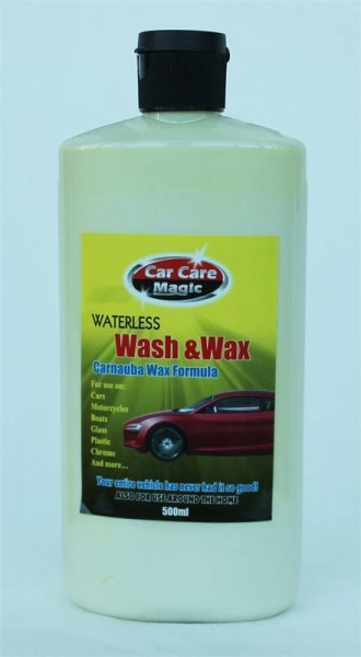 Quality Waterless Wash & Wax 500ml for sale