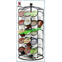 Cheap Revoling K-Cup Coffee Carousel Rack Powder Coated wholesale