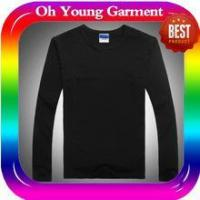 Cheap men long sleeve collar t-shirt custom long sleeve t shirt made in china wholesale