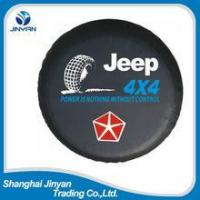 Cheap OEM China 4x4 car accessories 15 inches tire cover /spare tire cover/steel spare tire cover wholesale