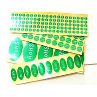 Cheap Adhesive label ROHS tag wholesale