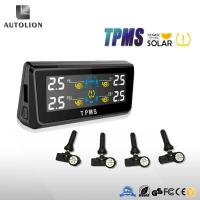 Cheap Tpms in Tire Gauges tire pressure Monitoring system solar charging with 4 Internal sensors wholesale