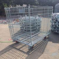 Cheap Steel Box with Wheels wholesale