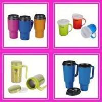 Cheap plastic cup with lid wholesale