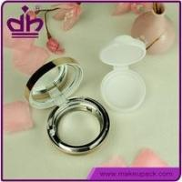 Cheap BB cream case air cushion empty compact cosmetic case with mirror wholesale