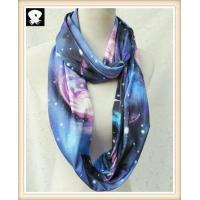 Cheap Scarf factory with the firmament polyester scarf wholesale