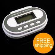 China Wireless Stereo FM Transmitter for MP3 MP4 Player PDA [E31666] on sale