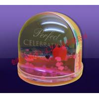 Buy cheap Plastic Snow Globe Acrylic Snow Globe with Removable Photo from wholesalers