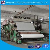 Cheap Manufacture of 2880mm Cylinder Toilet Tissue Paper Making Machine for 10-12tons Per Day wholesale
