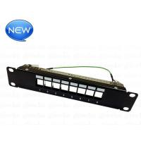 China FTP Blank Patch Panel 8 Port (Suit To Load Cat.5e/Cat.6/Cat.6A on sale