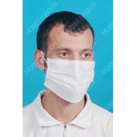 3-ply Face Mask With Earloop (Short Fibre Nonwoven) F91013