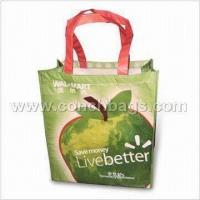 CN199008150725 Shopping Bag, Made of Recycle PET with Printed OPP Film Lamination